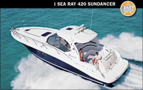 boat brands like sea ray sea ray 420 sundancer power motoryacht