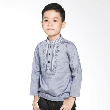 Koko Anak Kwalitas jual intresse kd 840825 bl baju koko anak grey blue harga kualitas terjamin