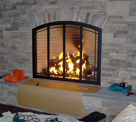 Doors Fireplace Glass Doors Inspiration Fireplace Glass Fireplace Glass Doors Open Or Closed
