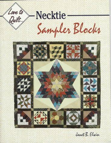 Necktie Quilt Block by Necktie Quilt Books