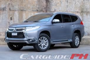 Mitsubishi Montero Sport Review 2016 Mitsubishi Montero Sport Gls Premium
