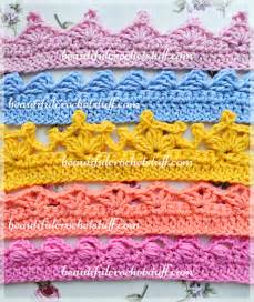 crochet borders top 5 free patterns beautiful crochet