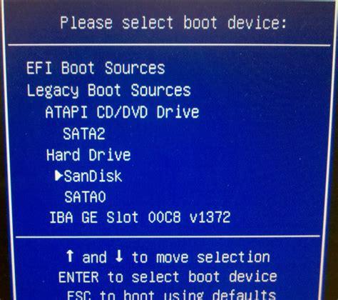 reset bios hp 8200 elite cannot boot using custom restore disk into hp 8200 vox