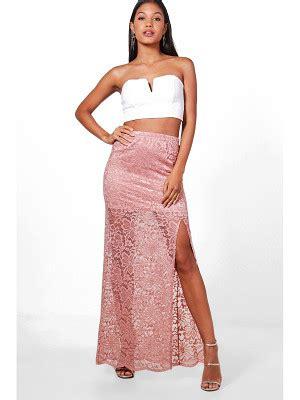 Leora Slit shop for maxi skirts nudevotion