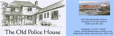 Floorplan Of A House by Location The Old Police House Wells Next The Sea North