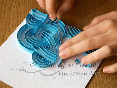 Paper Craft Work Tutorial - quilling by manuk