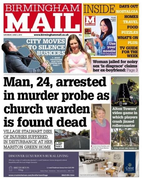 Birmingham Mail Section birmingham mail no longer paper of record journalism