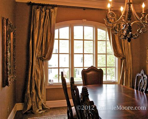 about dining room curtains of gallery and drapery