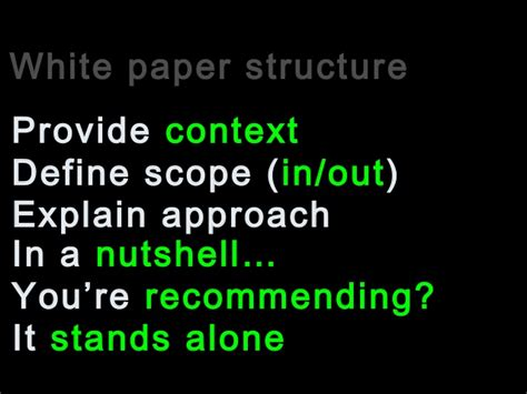 how to write a technical white paper how to write a technology white paper to increase sales