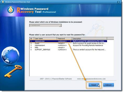reset password in xp mode windows xp bypass administrator password