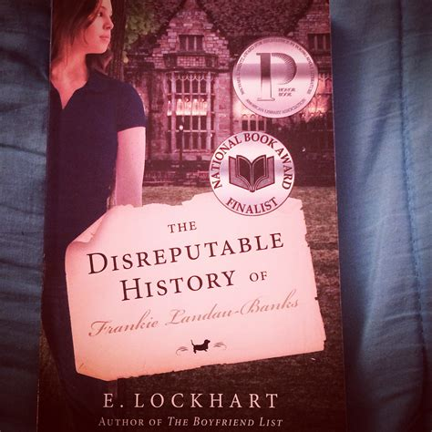 Book Review The Boy Book By E Lockhart by Book Review The Disreputable History Of Frankie Landau