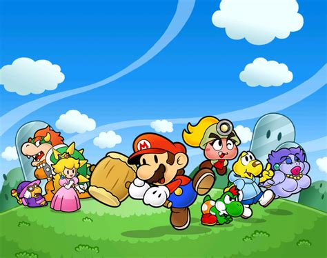 Mario Thousand Year Door by Quot Thinner Character Bigger Appeal Quot Paper Mario For Ssb4
