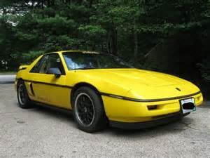 Pontiac Fiero Formula Buy Used 1988 Pontiac Fiero Formula Sc 3800 In Coventry