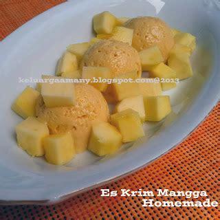 Freezer Rumahan es krim mangga yuniar dap resep masakan