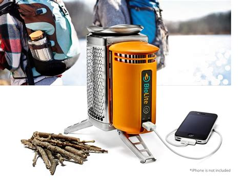 biolite stove a mini electricity generator and clean wood