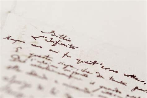 infinito testo leopardi il terzo manoscritto de quot l infinito quot di leopardi sembra