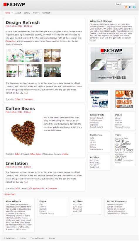 wordpress layout framework premium wordpress themes