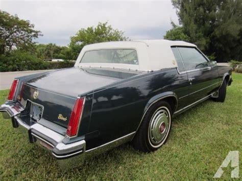 Cadillac For Sale In Florida by Cadillac Eldorado 2 Door In Florida For Sale 75 Used Cars