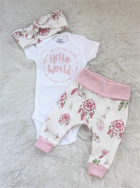 Newborn Wardrobe by Hello World Newborn Baby Pink