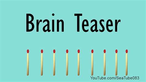 brain teasers brain teaser newhairstylesformen2014