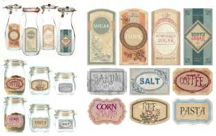 Owl Canisters For The Kitchen 7 best images of free blank printable vintage jar labels