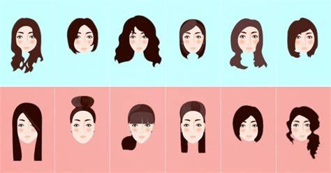 cortes para cabello segun el rostro de mujer cortes de cabello seg 250 n la forma de tu rostro