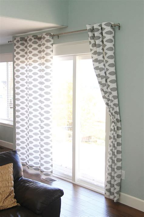 how to sew a curtain panel suprisingly chic no sew projects with fabric