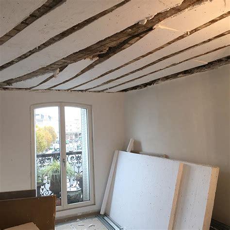 Isolation Du Plafond by R 233 Novation Reprise De Structure Et Isolation D Un