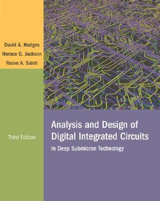 analysis and design of digital integrated circuits book by david a hodges 5 available editions