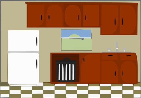 and you brought a wall clip set of 3 the land of nod free vector graphic kitchen house rooms furniture