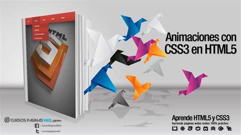 imagenes web html5 html5 y css3 crear animacion de objetos youtube