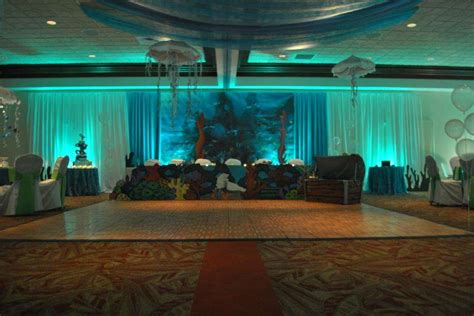 quinceanera themes under the sea under the sea beach quincea 241 era party ideas photo 3 of