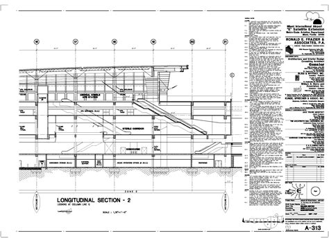 construction section drawing commercial projects building section and elevation