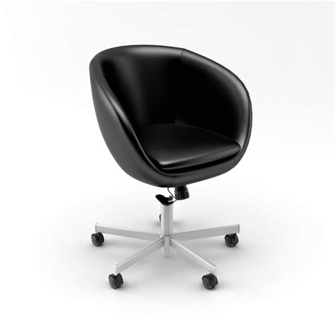 Architectural Visualization 3d Model Skruvsta Swivel Chair