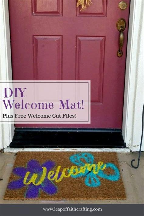 doormat easy diy tutorial diy