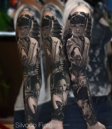 64 stylish full sleeve tattoos
