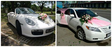 Decorate Wedding Car With Pink Flowers by Easy Car Decoration Ideas Or Wedding Ceremonies Weddings