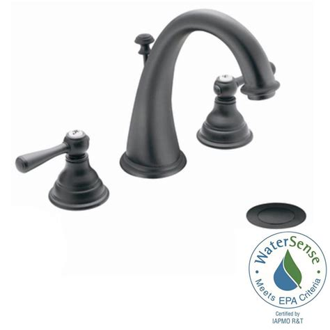 Wr Kitchen Faucet by Moen Kingsley 8 In Widespread 2 Handle High Arc Bathroom