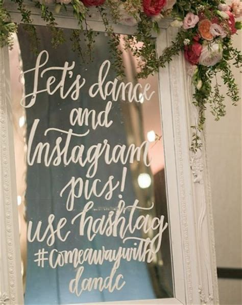 Wedding Wishes Hashtags the 2016 wedding trends everyone s talking about