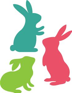 1000 Images About F 233 Easter Bunny Silhouette Clipart Clipartfest