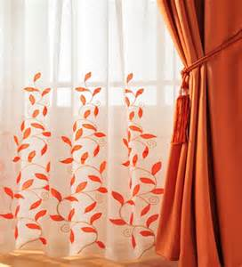 Orange And White Curtains Tangerine 10 Pieces Of Orange Home Decor