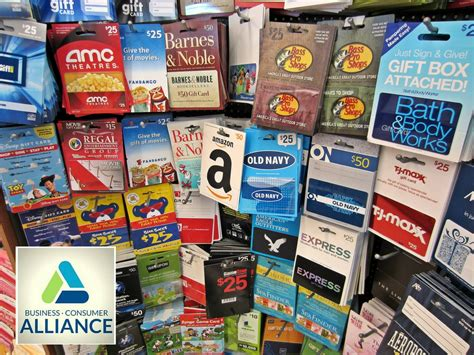 What To Do With Unwanted Gift Cards - business consumer alliance reviews complaints and ratings