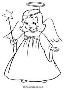 pics photos disegni angeli bambini stampare colorare pictures