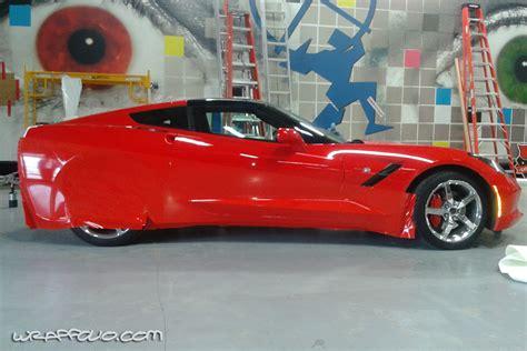 circle k corvette wrap wrapfolio