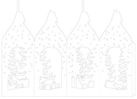 printable christmas village template 151 best christmas village templates images on pinterest