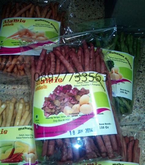 Mie Sayur Organik Wortel miealamie mie sayur organik alamie