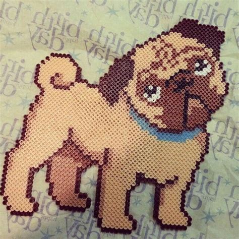 pug perler 17 best images about project to do on perler pearler