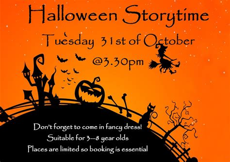 halloween storytime halloween fancy dress storytime in cashel library tipperary library service