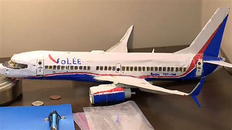 How To Make A Model Airplane Out Of Paper - calgary draws attention with detailed model planes