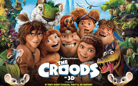 film cartoon the croods the croods movie wallpapers hd wallpapers id 12191